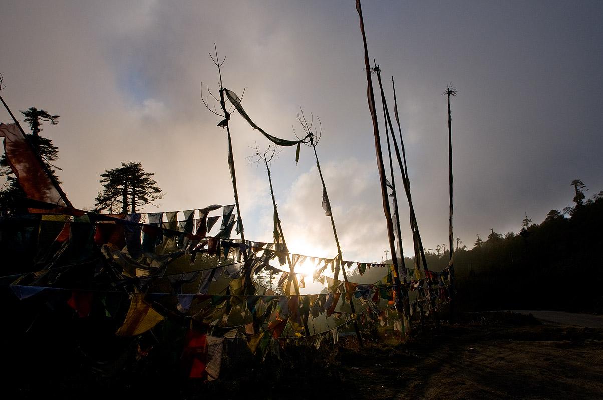 Prayer Flags at the Pele LaNikon D300, 17-35mm