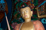 Statue in the Dhokang or Prayer HallDecember 2008