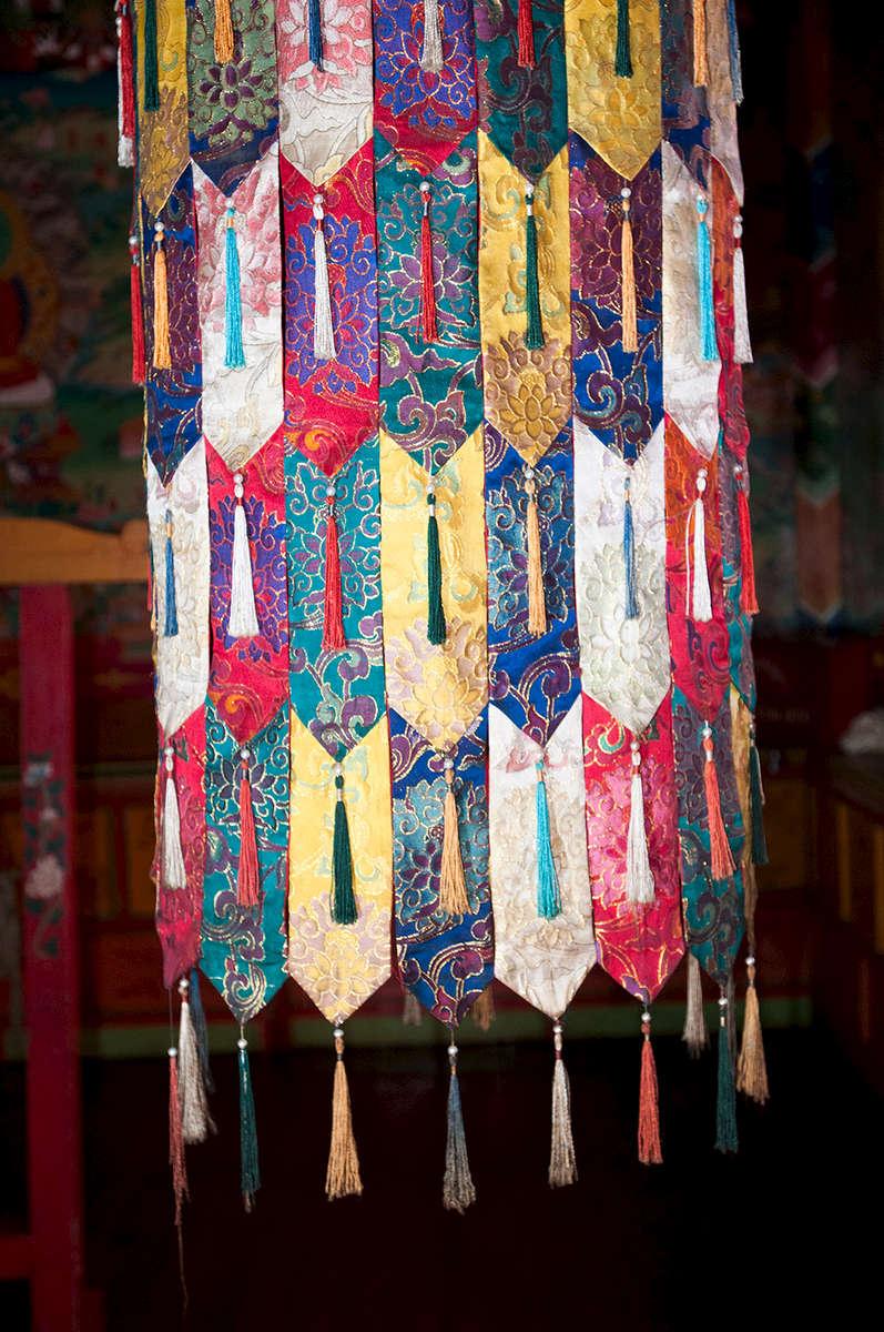In the Dhokang (Prayer Hall)