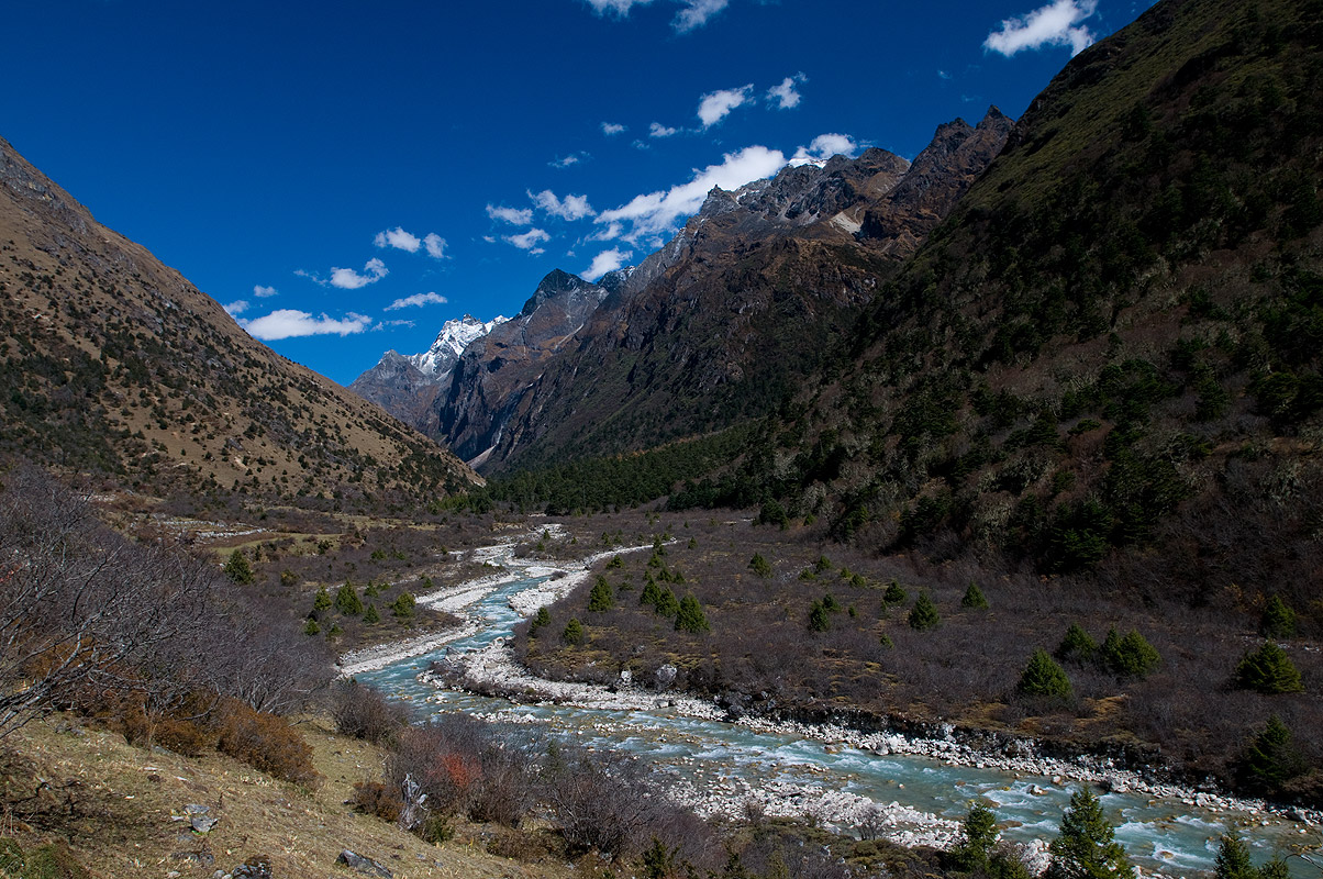 This river is fed by the Masagang glacierNikon D300, 17-35mm