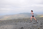 Keswick, Cumbria, September 2009Clare Whitehead running for Team Scotland in the Womens' Up-Hill Mountain Race