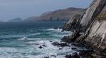 Looking west along the cliffs towards Slead Head & the Blasket IslandsCounty Kerry, Republic of Ireland