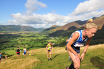 Keswick, Cumbria, September 2009Competitors in the Open Fell Race.