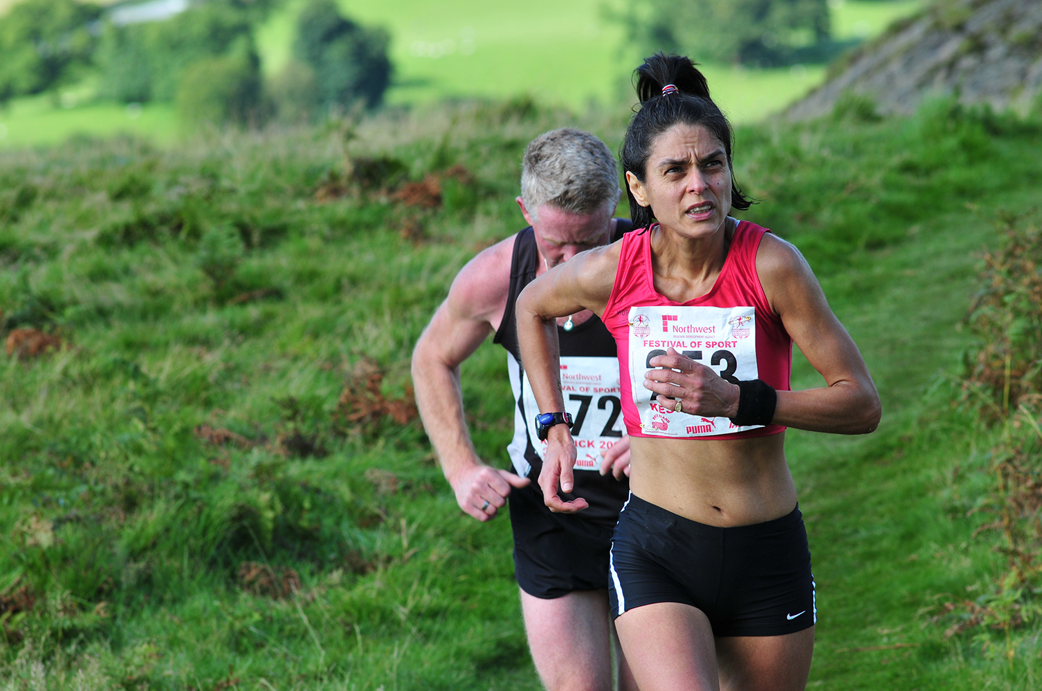 I shot this event for the I.A.U. in Kesick in September 2009. Competitors in the Open Fell Race