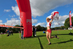 I shot this event for the I.A.U. in Speptember 2009. This is Katie Ingram winning the womens' fell race for England.