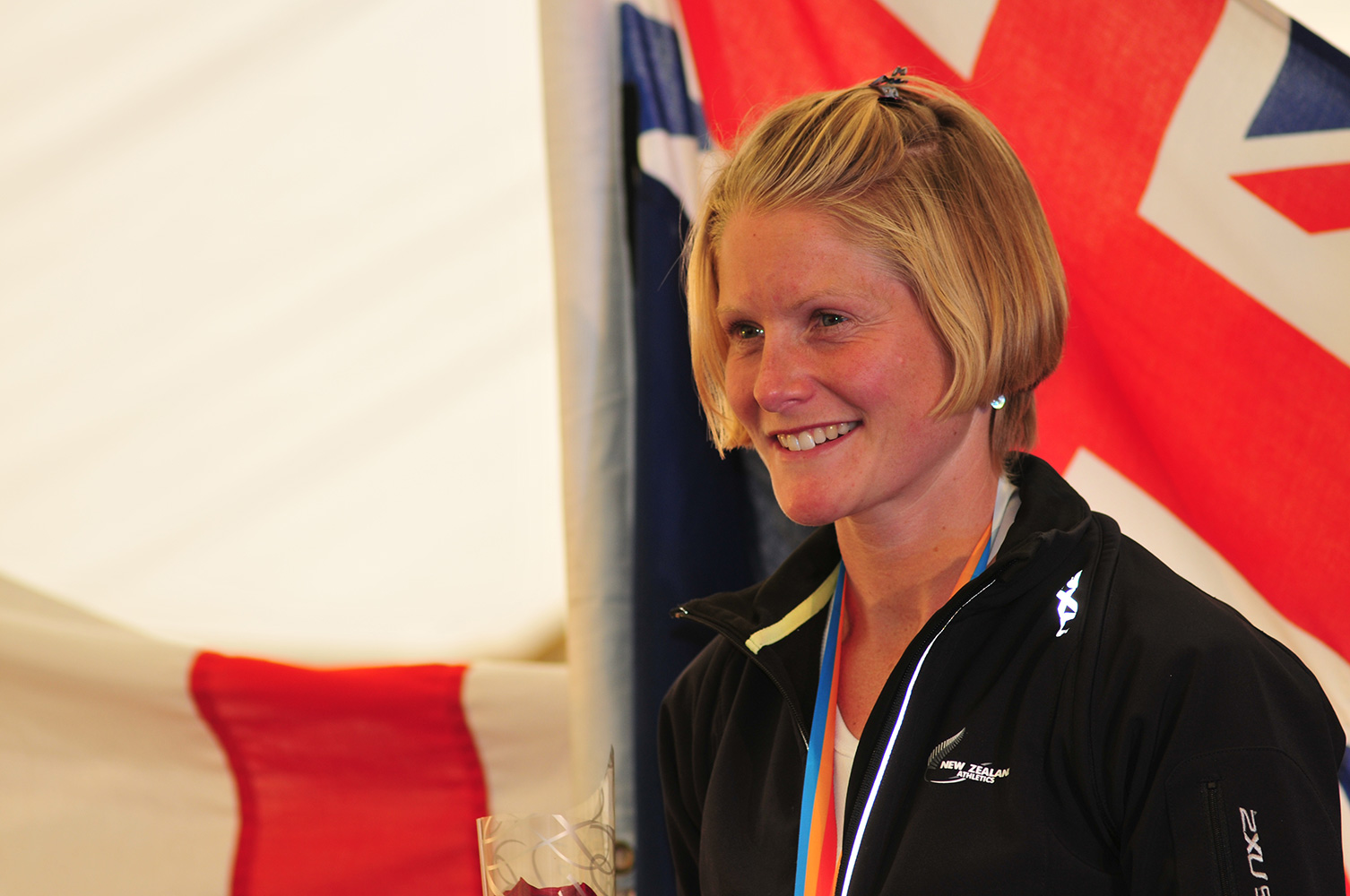 I shot this event in Keswick, Cumbria for the I.A.U. from 17th - 20th September 2009. This is Anna Frost of New Zealand, gold medalist in the Womens' Uphill Mountain Race.