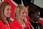 I shot this event in Keswick, Cumbria for the I.A.U. from 17th - 20th September 2009. This is Katie Ingram & Sarah Tunstall of Great Britain, and Pamela Bundotich of Kenya on the podium after the Women's Mountain Race.