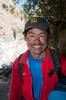 Sunaram Tamang of Himalaya Expeditions, Kathmandu. At Monjo village in the Khumbu. November 2008