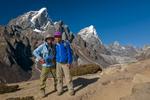 CK Ho of the Hong Kong Emerald Hiking Team and sirdar Kunga Sherpa Nikon D300, 17-35mm. November 2008