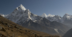 From the Thokla Pass (4830m) above Dughla on the trail to Lobuche / Everest BCNikon D300, 17-35mm