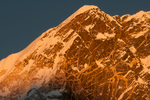 The summit at sunset from Kala PattarNikon D300, 180mm