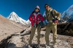 On the trail to Gorak Shep, with Pumori beyondNikon D300, 17-35mm