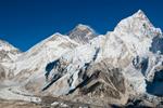 From Kala Pattar (5550m) above Gorak Shep on the Khumbu glacierNikon D300, 17-35mm