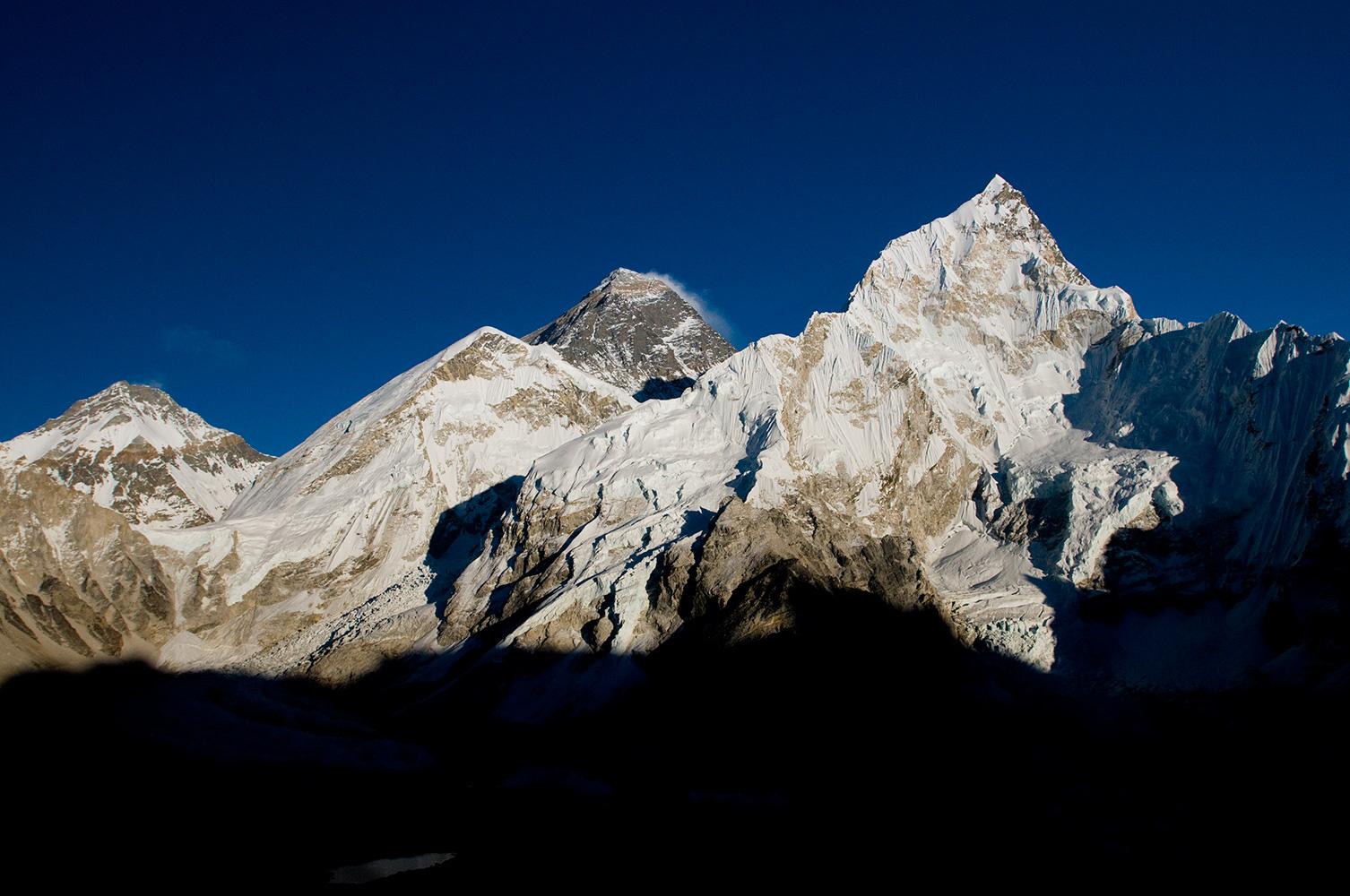 From Kala Pattar (5550m) above Gorak ShepNikon D300, 17-35mm. November 2008