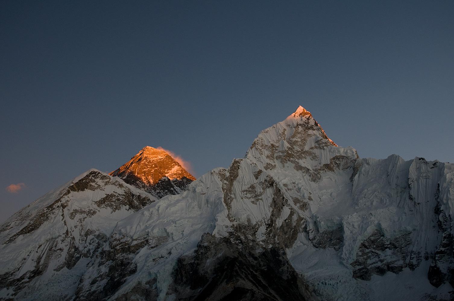 At sunset from Kala PattarNikon D300, 50mm