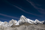 From the Khumbu Glacier near Gorak Shep, with Kala Pattar clearly visible immediately in front of itNikon D300, 17-35mm