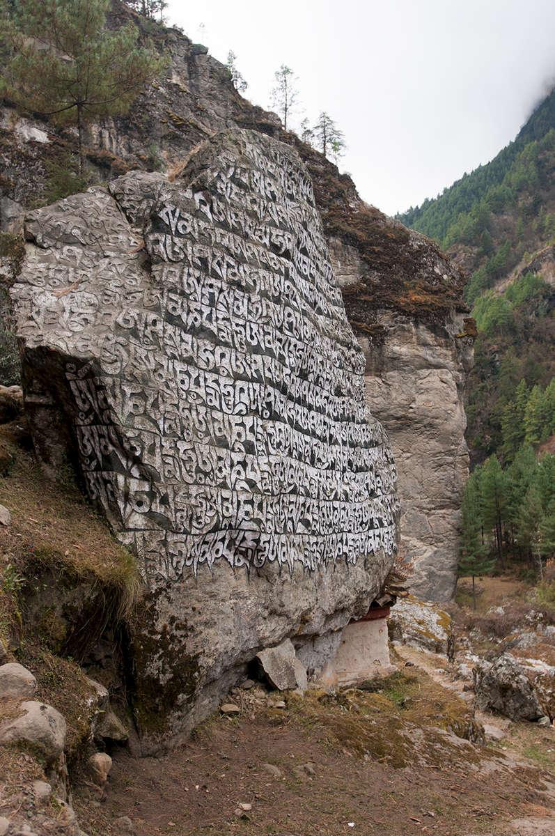 In the Milke Danda valley, below Namche BazaarNikon D300, 17-35mm