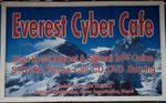 Sign advertizing internet services at Phakding village, below LuklaNikon D300, 17-35mm
