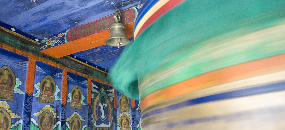 In a wayside temple below LuklaNikon D300, 17-35mm