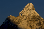 At sunset, from Khunde villageNikon D300, 180mm