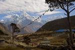 A view down the Bhote Khosi valley to ThamserkuNikon D300, 50mm