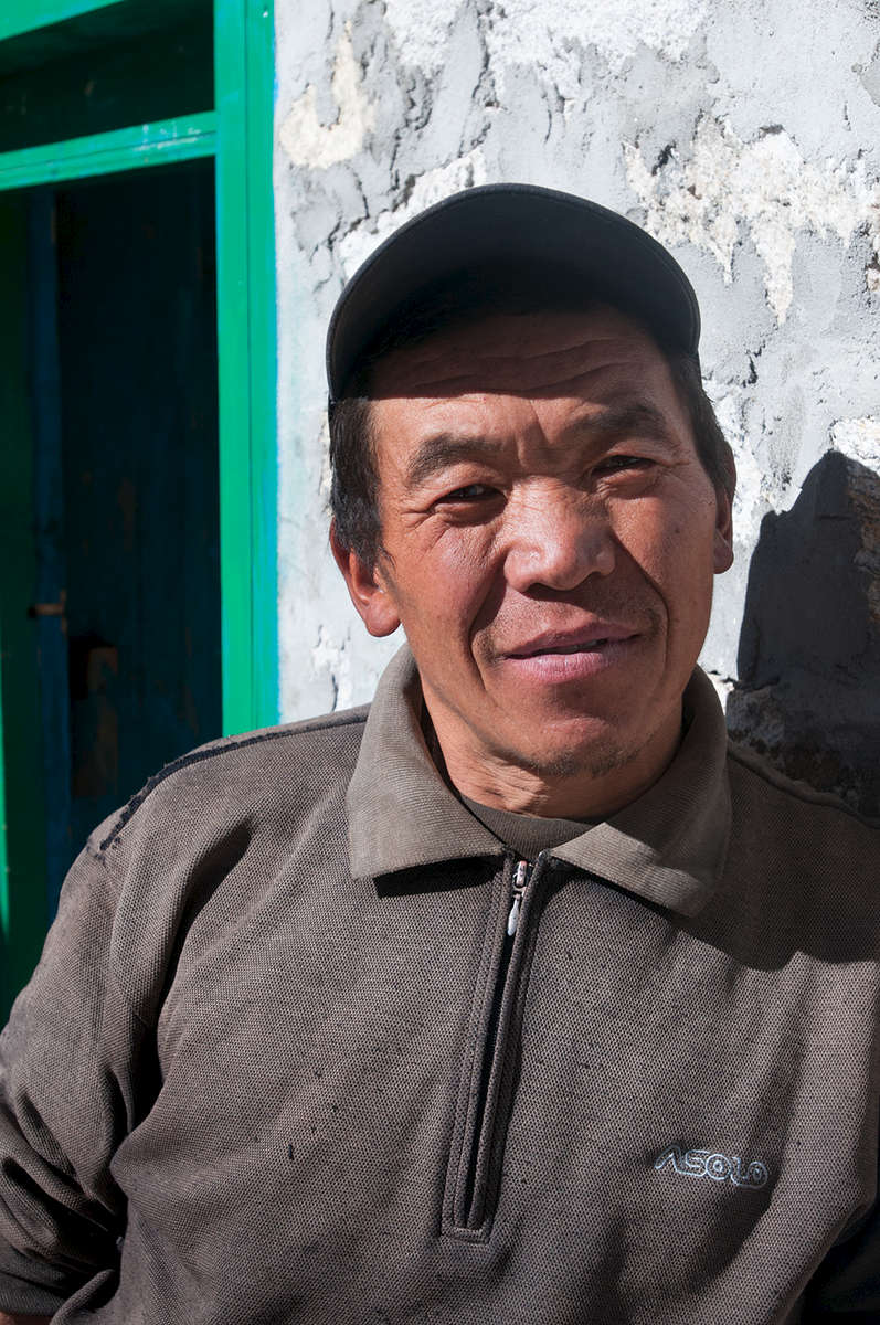 Lodge owner in the Thame valley, north of Namche Bazaar