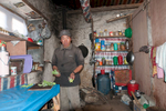 Tea-shop kitchen in the Thame valley, north of Namche Bazaar. December 2008