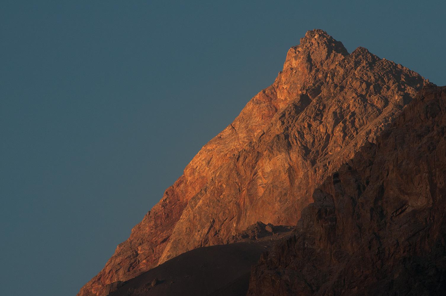 At sunset from Sarykhodan