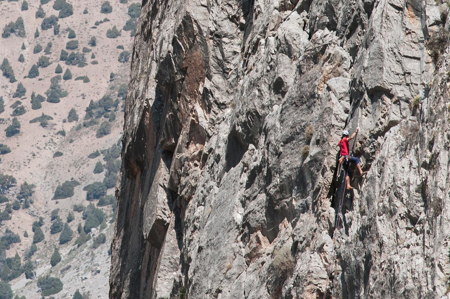 Rock Climbing at Chukurak