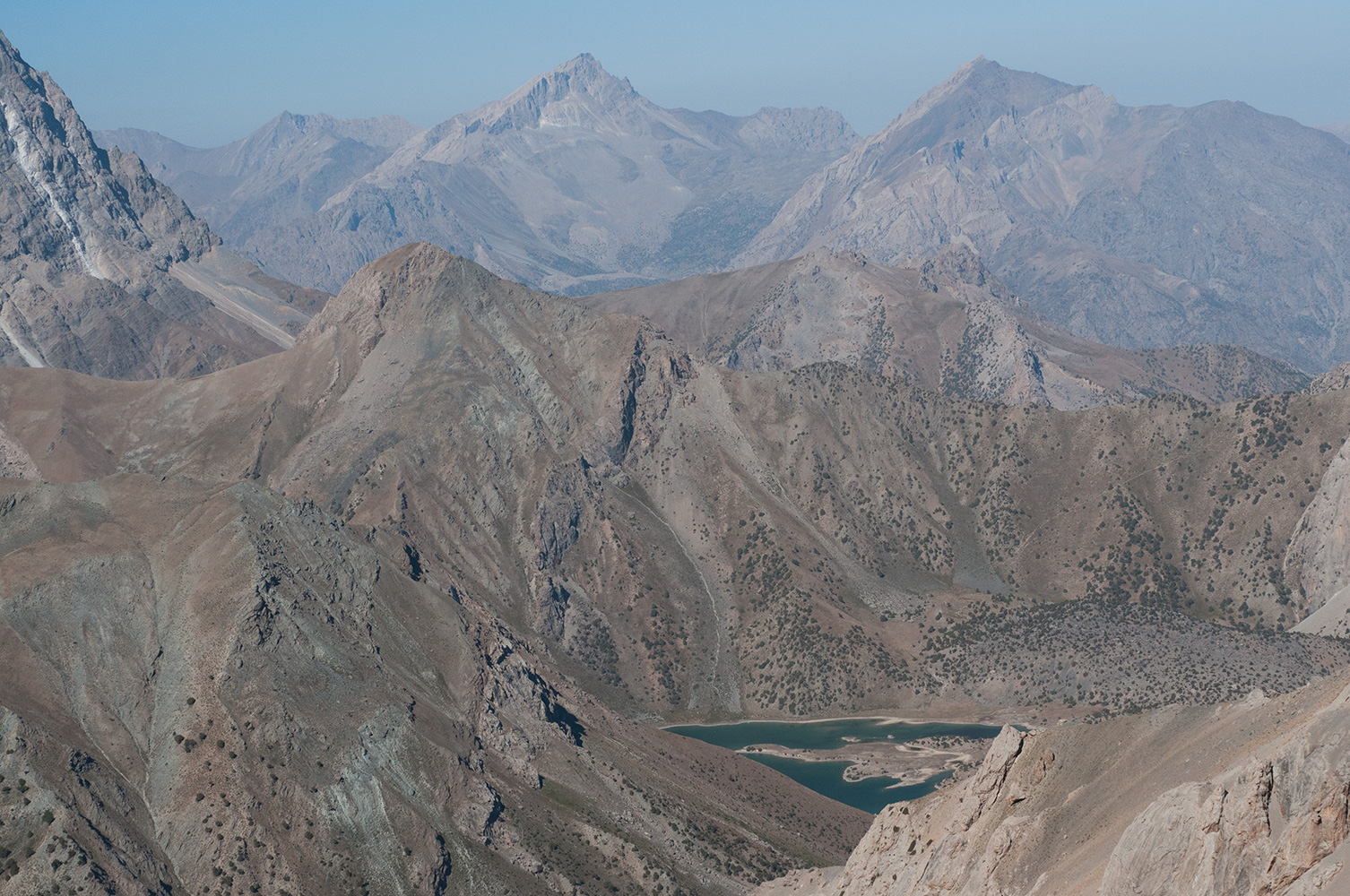 Telephoto from the Alaudin Pass, 3800m