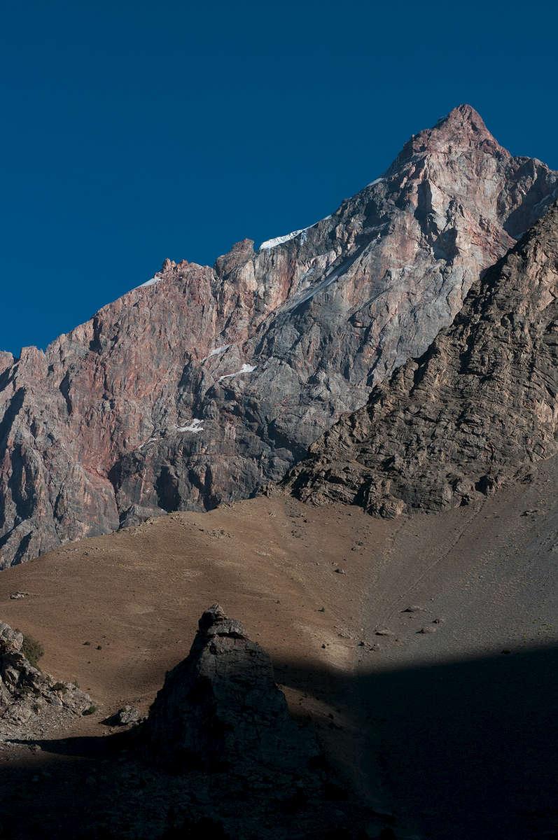 Peak above Alaudin Lake