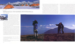 A double-page-spread showing the use of my images in this acclaimed title. This one features the opening pages of the chapter on Kangchendzonga from Sikkim (India).