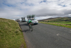 Domingos GONCALVES of Team Caja Rural on Caldbeck Commons in Cumbria during Stage 2