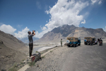 On the journey by jeep from Skardu to Askole