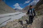 Sirdar on our trek, employed by Baltistan Tours, Skardu