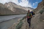 In the Braldu valley near Askole