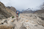 Carrying from Hobutse to Urdokas on the Baltoro