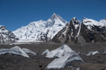 On a perfect day we walked from Urdokas to Goro on this trip, and as the morning progressed this stunning peak came into view over our right shoulders. One of my favourite Karakoram peaks - originally given the moniker K1 by the survey of India