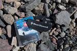 Expedition trash on the Baltoro glacier at Goro