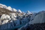 From the Baltoro glacier at Goro