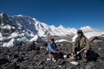 Baltistan Tours guides on the Baltoro glacier at Goro