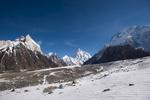 En route to Broad Peak base camp. With K2, Broad Peak etc ahead