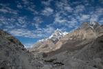Below Hobutse camp, with Paiju Peak beyond