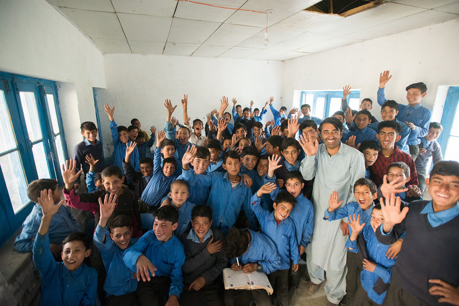 One of the boys' classroomsWhen I got back to Askole at the end of this trip, I received a message from The Juniper Trust requesting that I go to the school and take some pictures for them as they were considering helping to fund the place. Always happy to help and such a joy to spend an hour with the children!To find out more please visit the Juniper Trust web sitehttp://thejunipertrust.org