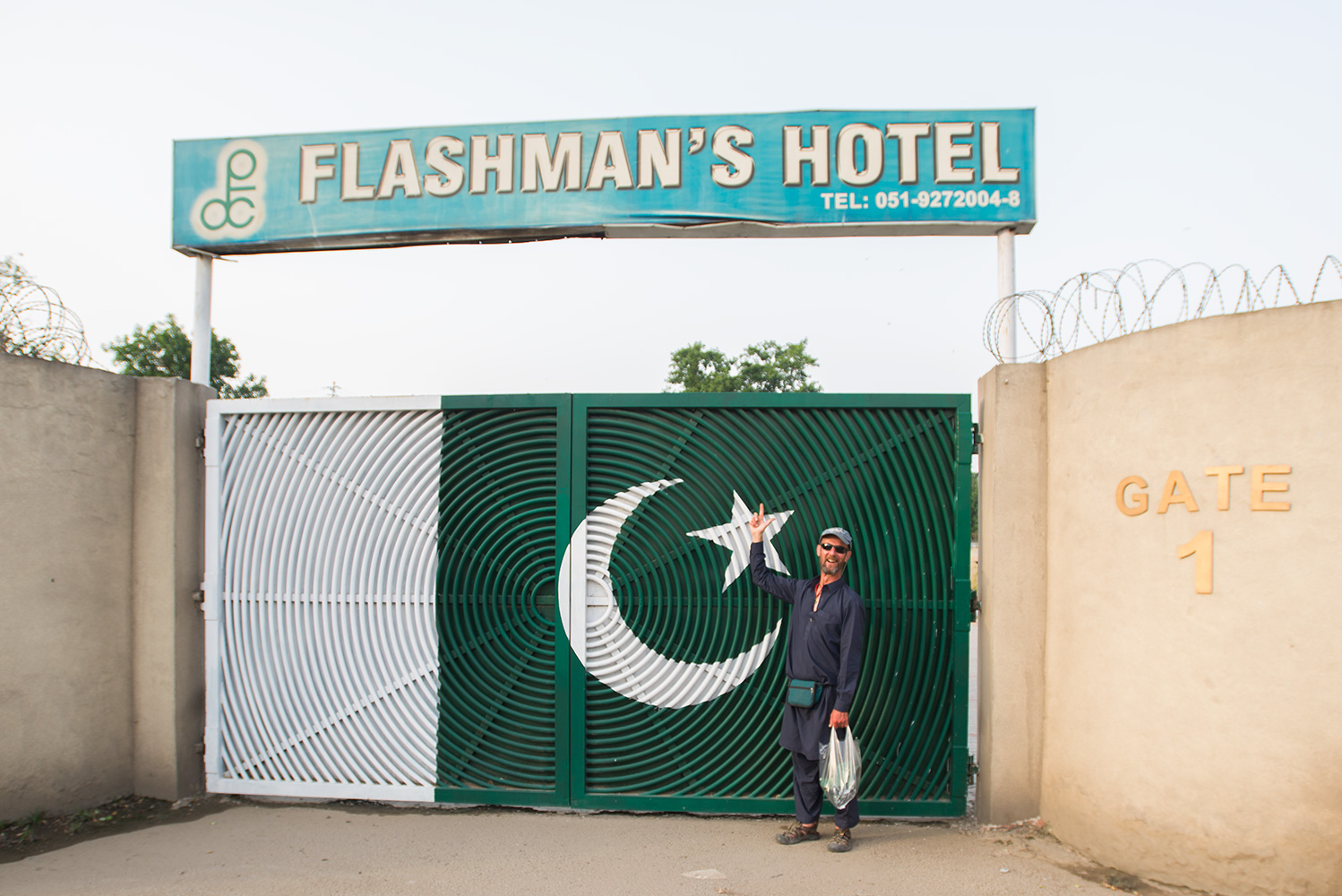 For several years Flashmans was our base in Pakistan