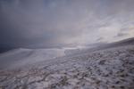 Carrock Fell in winter, Cumbria