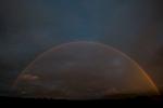 At dusk, midsummer. From Skipness, Kintyre.