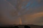 At dusk, midsummer. From Skipness, Arran