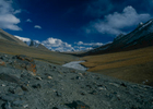 The final spproach to the Shimshal Pass is up this idyllic high altitude valley