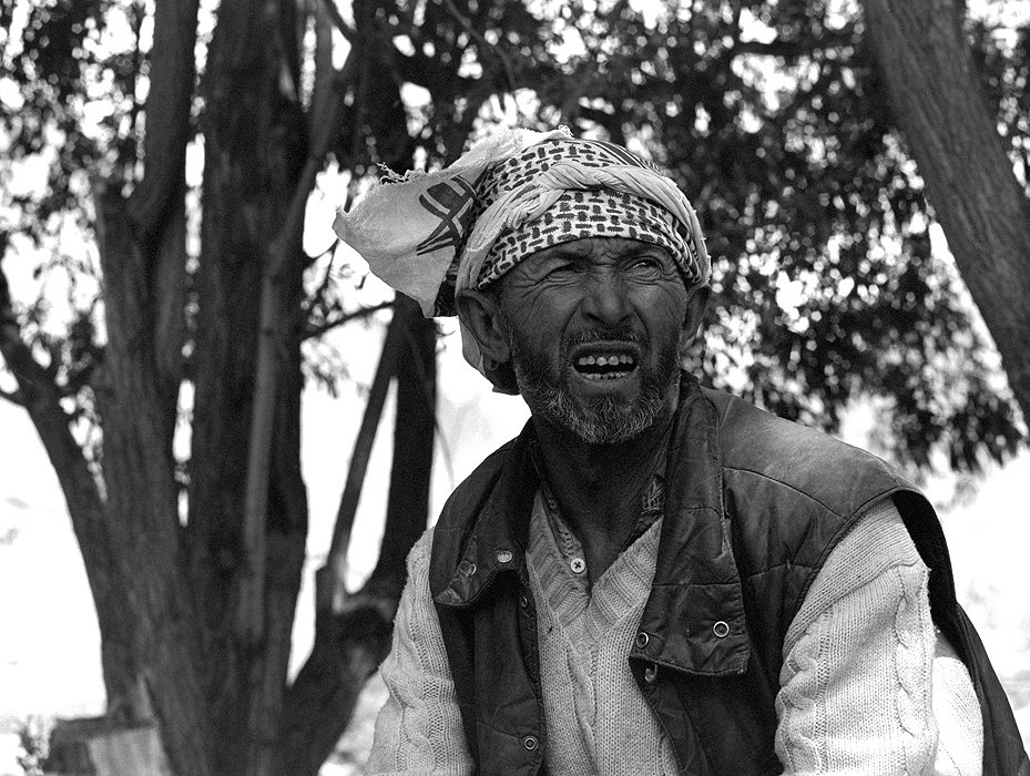Portrait of Ali Hassan, Lambarder (head man) of Tongal - the village before Askole in the Braldu Valley on the approach to K2Bronica ETRSi, 70mm, Kodak T-Max 400 @ 800ASA